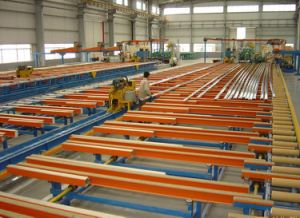 Length Customized Handling System/ Cooling Table with Easy Maintenance