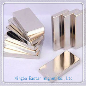 Big Size NdFeB Magnet Block with High Quality Plating pictures & photos