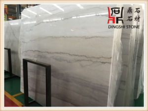 Natural White Marble Slabs Guangxi White Marble Mosaic for Wall Tile and Flooring pictures & photos