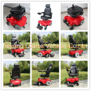 Ce Power Wheelchair / Electric Wheelchair / Disable Wheelchair Xfg-105fl pictures & photos