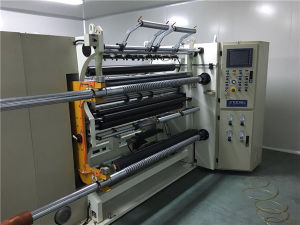 Used of High Speed PLC Control Plastic Film Slitting Machine pictures & photos