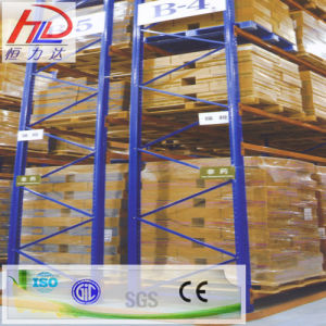 Narrow Aisle Steel Warehouse Storage Pallet Racking pictures & photos