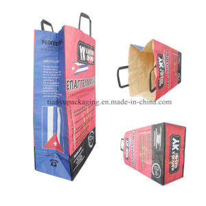 Customized Printing Kraft Paper Charcoal Bag for Barbecue with Handle, 2kg 3kg 4kg 5kg 9kg pictures & photos