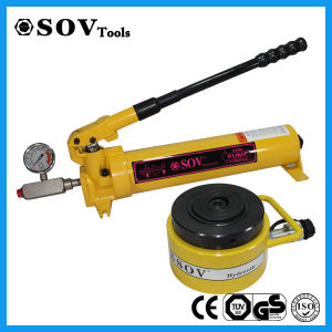 500ton Hot Sell Single Acting Pancake Lock Nut Jack (SOV-CLP) pictures & photos