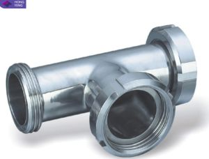 ANSI Stainless Steel Pipe Fitting Tee pictures & photos
