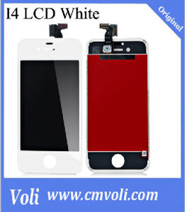 Mobile Phone LCD for iPhone 4S LCD Screen White pictures & photos