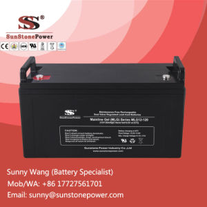 12V 120ah Deep Cycle Gel Batteries Maintenance Free Solar Battery pictures & photos
