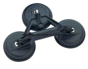 Flexible Heads Rubber Glass Sucker with Three Suction Cups pictures & photos