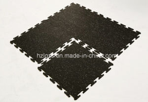 Interlocking Rubber Mat Rubber Floor Tile for Gym pictures & photos