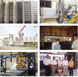 European Quality Full Automatic Concrete Block Making Machine pictures & photos
