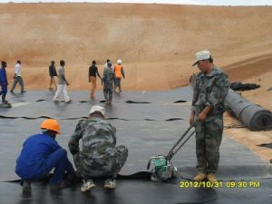 0.5mm Geomembrane LDPE HDPE PVC with CE Certificate pictures & photos