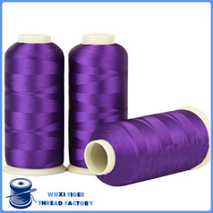 Wholesale Fashion Material Polyester 75D Rayon Embroidery Thread
