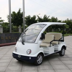 Marshell Brand White 4 Seaters Police Electric Car (DN-4) pictures & photos