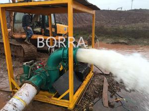 Big Flow Flood Control Trash Diesel Water Pump pictures & photos