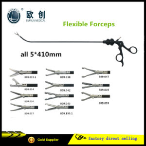 Geyi Laparoscopic Flexible Grasper Forceps pictures & photos