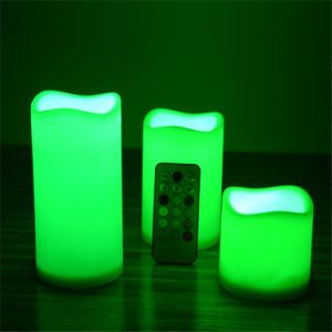 Pillar China Flicking LED Candle Factory pictures & photos