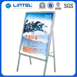 Indoor Sign Board Aluminum Poster Stand (LT-10-SR-32-A) pictures & photos