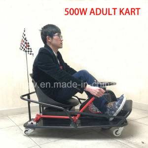 Adult 500W Electric Trike Pedal Crazy Cart XL pictures & photos