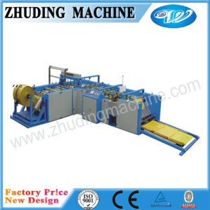 High Efficiency Woven Bag Cutting and Sewing Machine Price pictures & photos