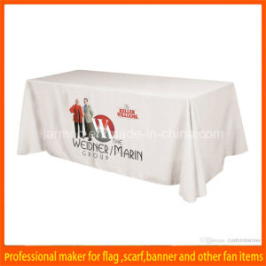 OEM Advertising Polyester Table Cover pictures & photos