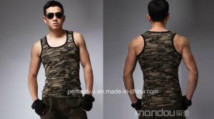 Cool Mens Camo Gym Vest pictures & photos