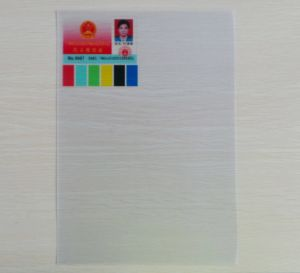 100% Transparent PVC Sheet for Offset Printing pictures & photos