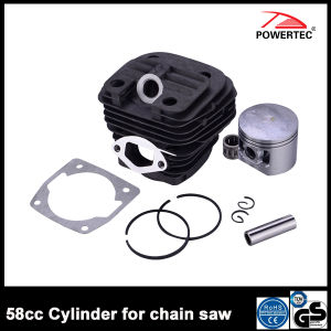 Garden Chain Saw Spare Part 58cc Cylinder pictures & photos