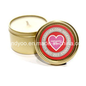 Unique Scented Gift Candle in Tin