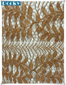 Factoty Price Lace Fabric 90% Nylon Lace Fabric Polyeaster Lace pictures & photos
