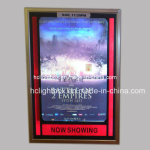 Slim Aluminum Snap Frame Movie Poster Cinema Light Box