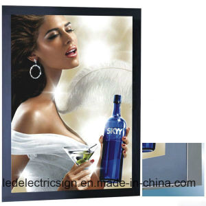 Magnet Aluminum Frame for LED Light Box Signs pictures & photos