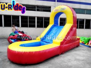Children Inflatable Water Slide for Backyard pictures & photos