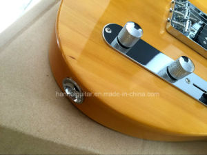 Hanhai Music / Sale Price Yellow Tele Style Electric Guitar pictures & photos