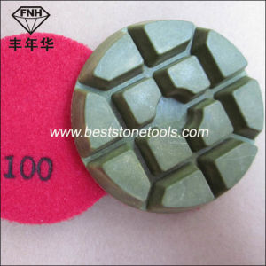 Cr-14 Concrete Diamond Floor Pad for Floor Polishing Machine (80/100X10mm) pictures & photos