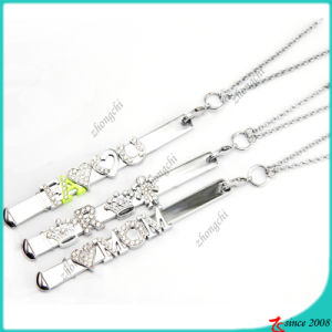 Fashion Silver Slide Bar Necklace for Charms Necklace (BN16041209)