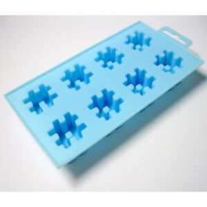 Food Grade Eight Cells Silicone Ice Cube Tray pictures & photos
