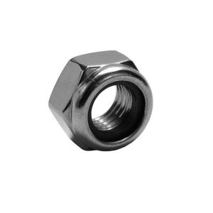 Alloy Steel Hex Nylon Lock Nuts DIN985 pictures & photos
