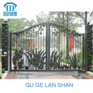 High Quality Crafted Wrought Iron Gate 007 pictures & photos