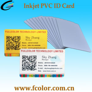 Blank White PVC ID Card Inkjet Printable Plastic Cards Seller pictures & photos