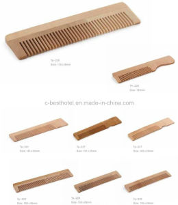 Perfessional Disposable Cheap Hotel Plastic Comb pictures & photos