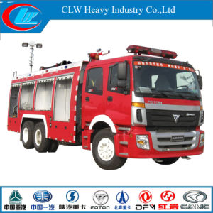 Foton 6X4 Fire Truck with 270HP Engine (CLW1253) pictures & photos
