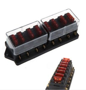 Universal Car Truck Van 8 Way Circuit Standard Blade Fuse Box Block Holder 1-40A pictures & photos