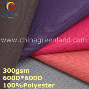 Polyester Oxford Plain Fabric Coated for Clothes Garment (GLLML311) pictures & photos