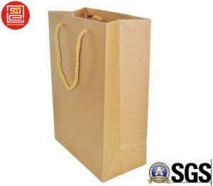 2016 Hotsale Recyclable Kraft Paper Bag, Shopping Bag, Carrier Bag pictures & photos