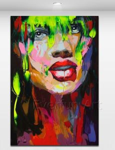 100% Handmade Cheap Painting Pop Art Painting From China (KVP-129) pictures & photos
