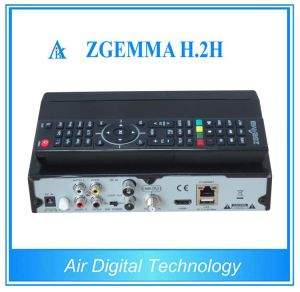 Linux TV Box Zgemma H. 2h DVB S2 DVB T2 DVB C pictures & photos