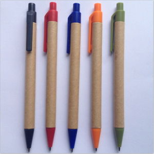 Paper Ball Point Pen for Promotion (E1002) pictures & photos