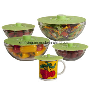 Heat Resistant Silicone Food Covers and Suction Sealing Lids pictures & photos