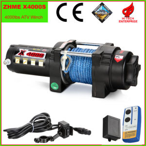 4000lbs Auto Electric Winch with Synthetic Rope pictures & photos
