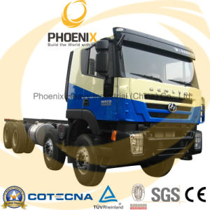 380HP 8X4 Hongyan Genlyon Iveco Tipper Truck Chassis pictures & photos